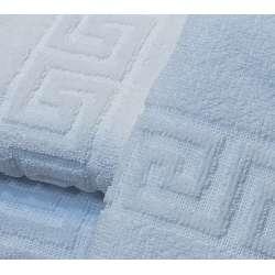 Detalle de la greca de las toallas