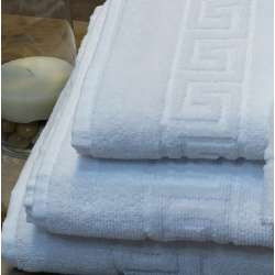 Juego de toallas con detalle de cenefa