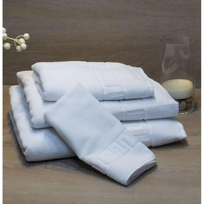 Juego de toallas de baño GRECA U CLASSIC con ambiente