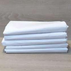 Contenido de un paquete, cinco sábanas encimeras