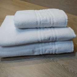 Juego de toallas blancas 450g