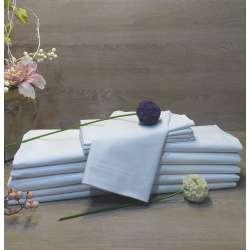 Sábanas blancas 5 encimeras +5 bajeras + 5 fundas almohada