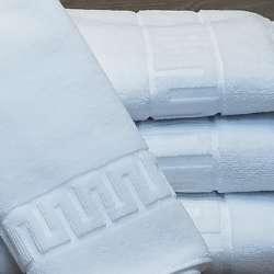 Varias toallas spa juntas